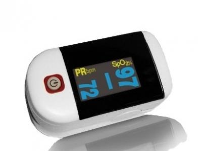 Fingerpuls- und Sauerstoffmessgerät